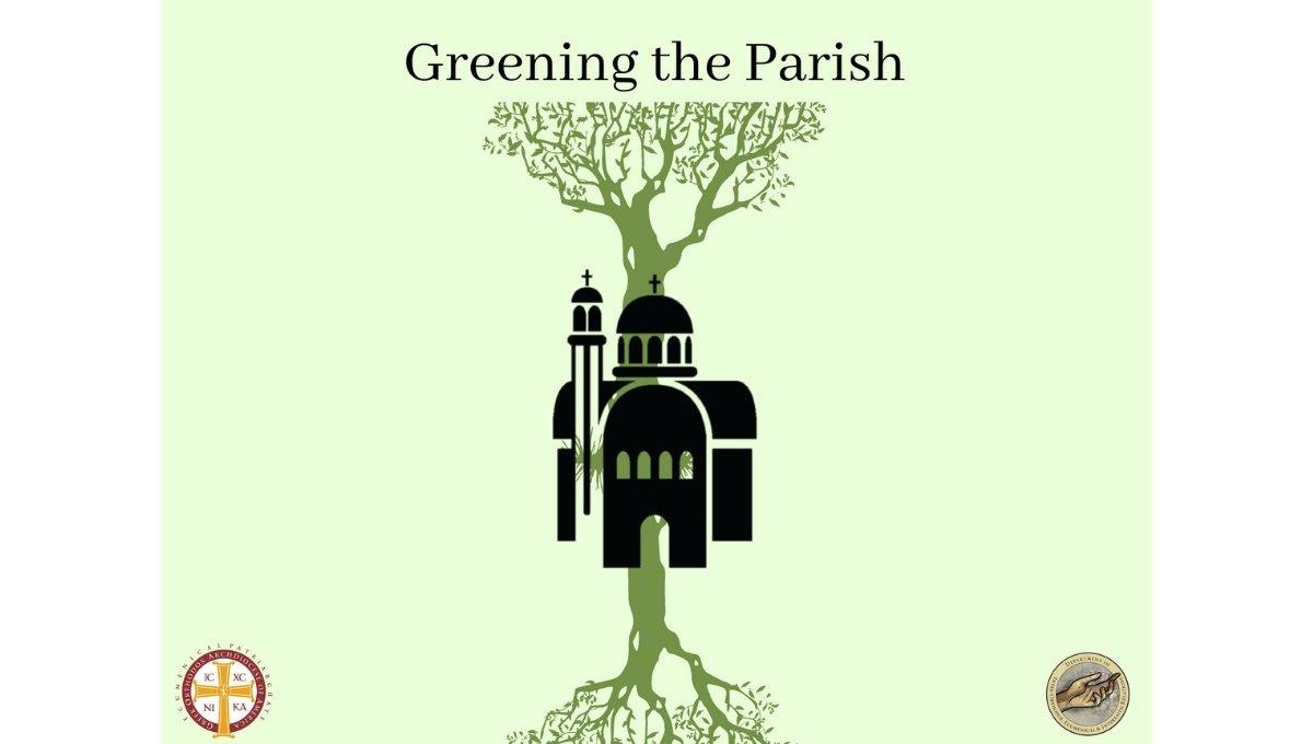Greening the parish logo