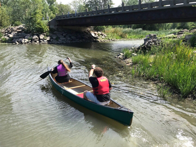 Canoeists 2